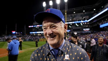 Celebrity fans celebrate the Cubs' long-awaited World Series win