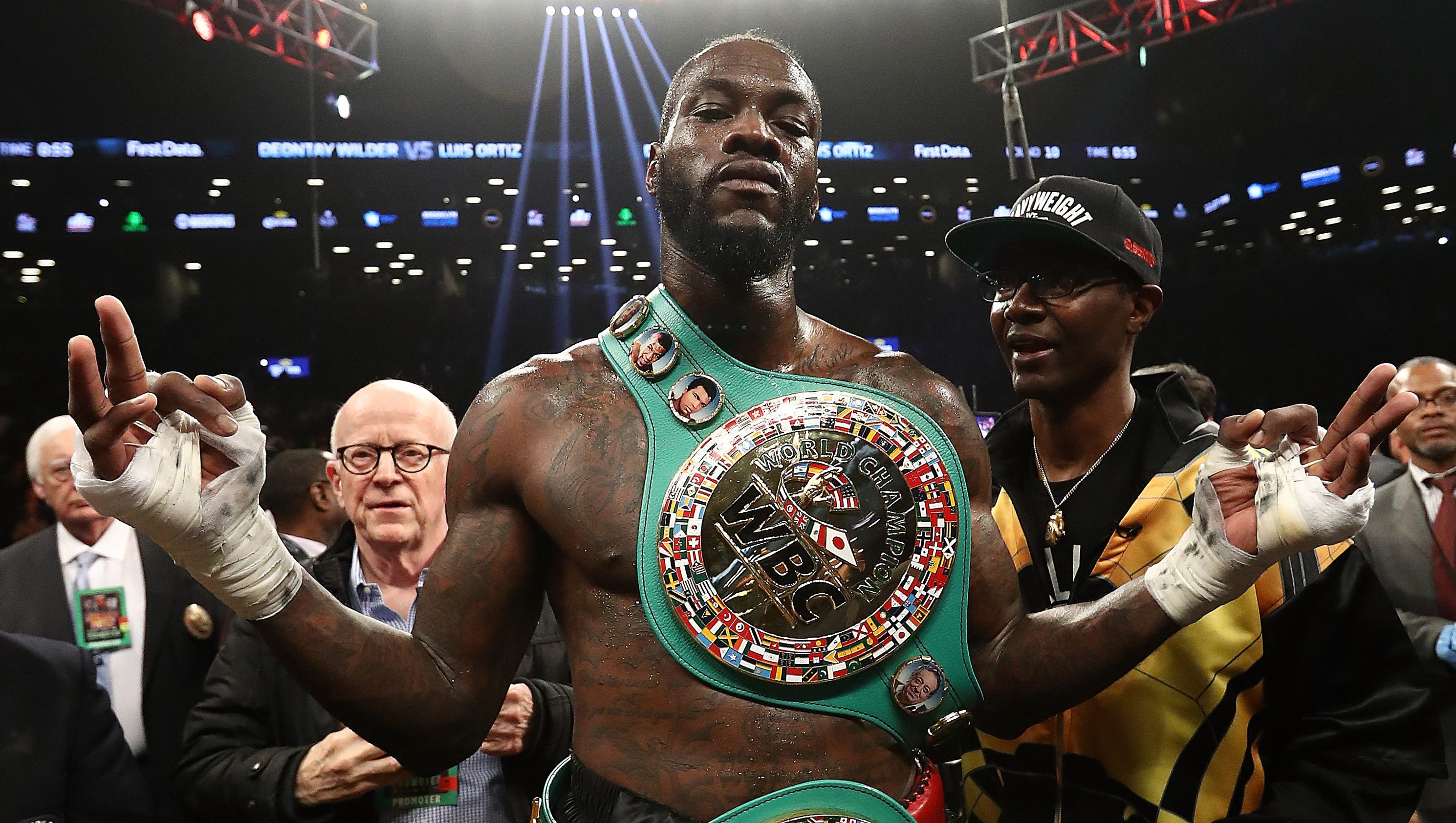Deontay Wilder: Deontay Wilder Escapes KO, Then KOs Luis Ortiz In The 10th