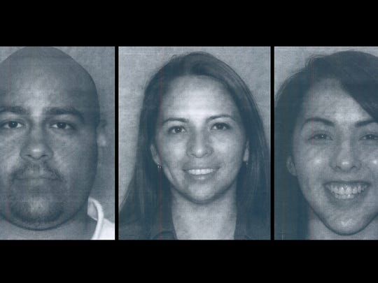 Police say they suspect Samuel Morales (far left) shot
