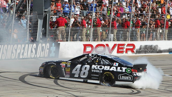 Jimmie Johnson is going for a 10th win at the Monster Mile.