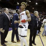 You can attend Romeo Langford's college announcement