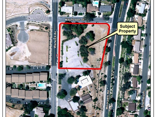 MAP - Aerial photo of property location.