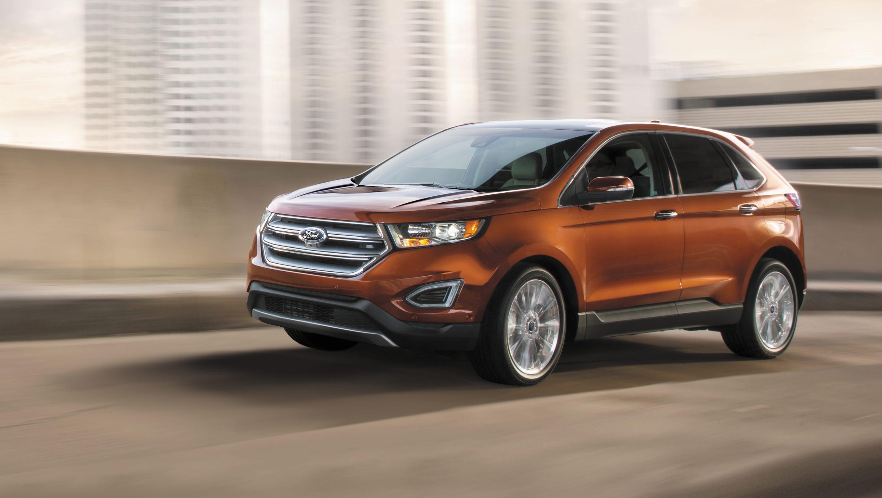 Ford Edge Usa 2017