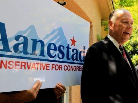 Sam Aanestad, a former Republican state senator and