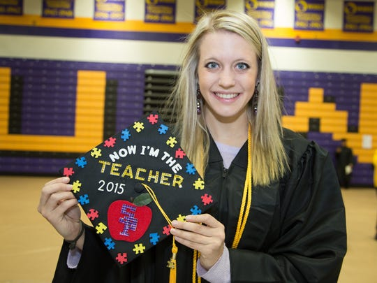 Nicole Albers, Appleton, who majored in special education, graduated Dec. 19 from UW-Stevens Point.