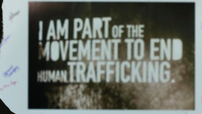 Human trafficking is a problem in Mexico.