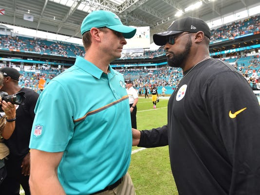 NFL: Pittsburgh Steelers at Miami Dolphins