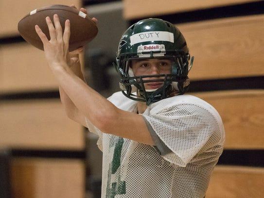 Quarterback Joe Duty is a key returning player for