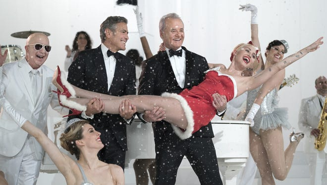 """Bill Murray is joined by some of his famous pals in """"A Very Murray Christmas."""""""