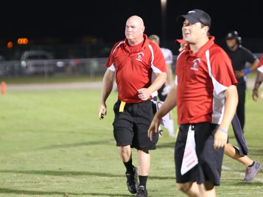 North Fort Myers High special teams coach Marek Moldawsky