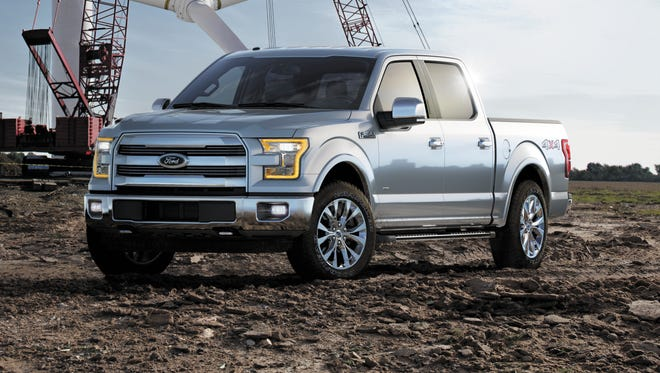 Ford 2015 F-150 switches form steel to  aluminum alloy body, cargo bed, frame. Weight 700 pounds less and Ford says it's harder to dent than steel. It's one of the products that would have led to higher development expenses.