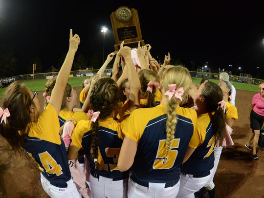 Iowa City Regina won last year's Class 2A state championship in a 16-inning game against EBF of Eddyville.