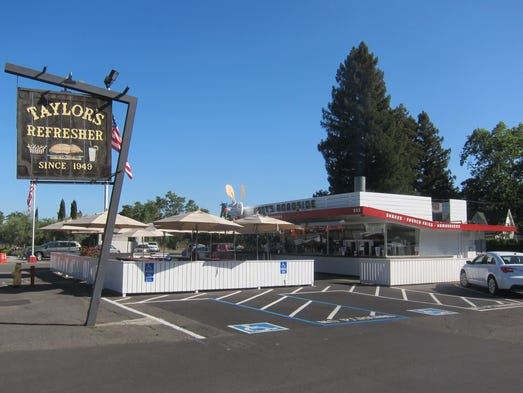 The flagship Gott's Roadside, originally Taylor's Refresher, has been sitting on St. Helena's Main Street for more than half a century.