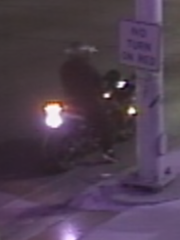 Suspect on motorcycle.