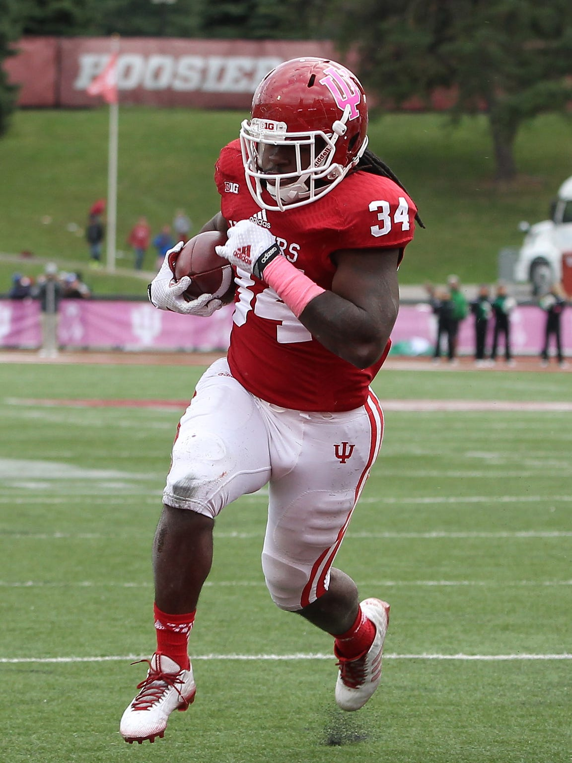 Indiana running back Devine Redding