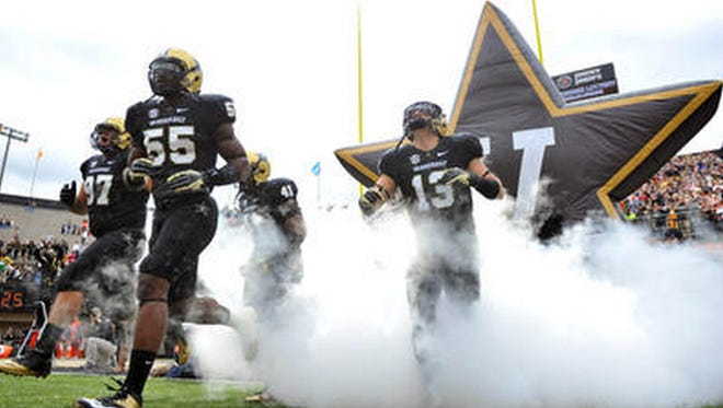 The kickoff times for Vanderbilt's Week 1 and Week 3 games were announced Thursday.