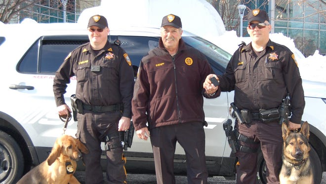 Somerset County sheriff's officers are being outfitted with body cameras.