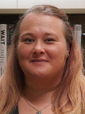 Meg Miller is the adult services program tech at the Pflugerville Public Library.