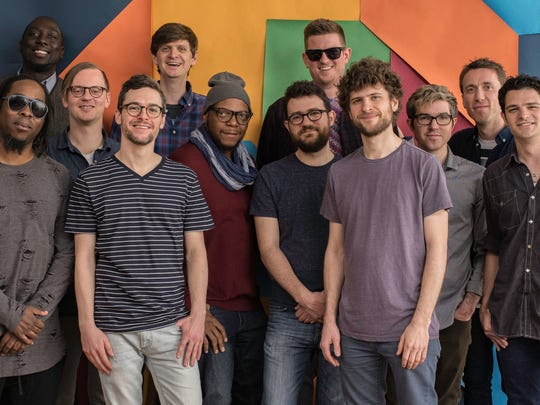 Jazz fusion group Snarky Puppy, co-founded by Wauwatosa native and trumpet player Mike Maher (back row, center), started in 2004 at the University of North Texas in Denton.