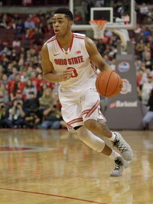 Ohio State's D'Angelo Russell is the frontrunner for Big Ten freshman of the year.
