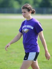 New PCA girls soccer coach Annette Somercik enjoyed