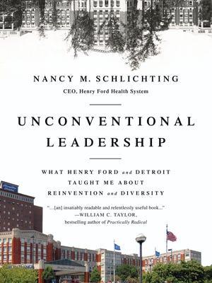 "Book jacket for Nancy Schlichting book, ""Unconventional Leadership"""