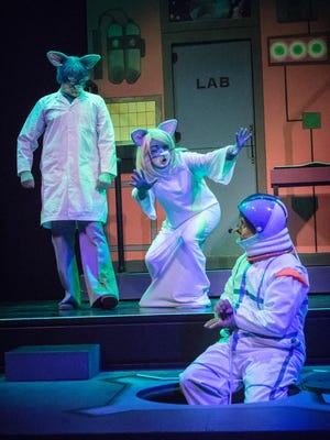 "Oregon Children's Theatre's current production, ""Geronimo Stilton,"" runs through Feb. 14."