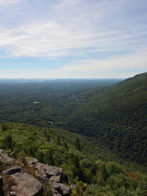 Huckleberry Point offers panoramic views.