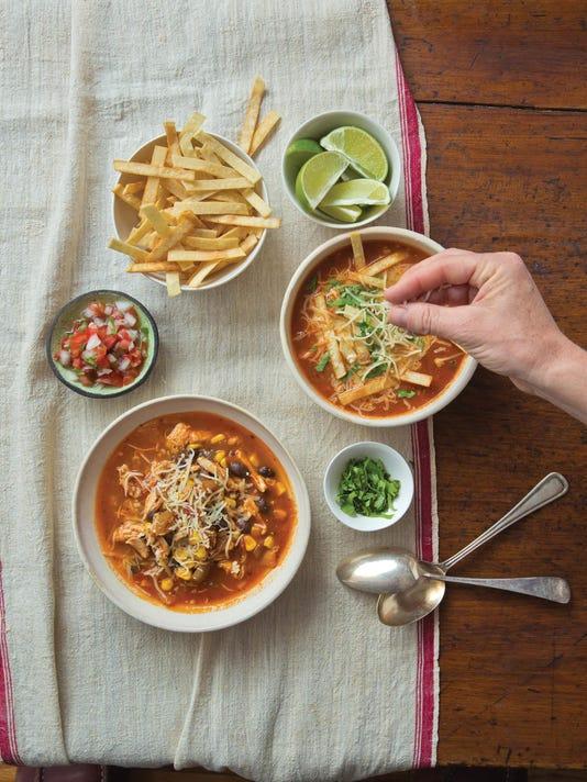 Food Deadline Mexican Tortilla Soup
