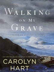 Walking on My Grave. By Carolyn Hart. Berkley. 256 pages. $26.
