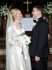 Carolyn Riley andMatt Von Lunen married Dec. 3, 2016,