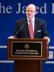 Chancellor Hal Higdon announced OTC recieved a $1.3 million grant to create the Veterans Upward Bound program to help veterans enroll in college and access GI Bill benefits.