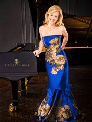 Russian-American pianist Olga Kern.