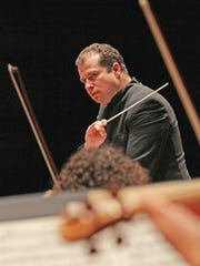 Stefan Solyom will lead the Sweden's Helsingborg Symphony Orchestra when it plays in Wilmington Wednesday.