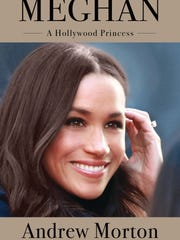 Cover of Andrew Morton's new biography of Meghan Markle.