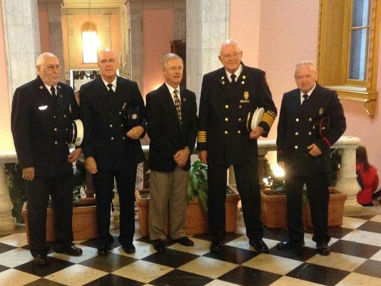 Arndt Honors Firefighters