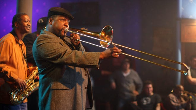 Wendell Pierce plays a trombone player on the New Orleans-based HBO series 'Treme.'