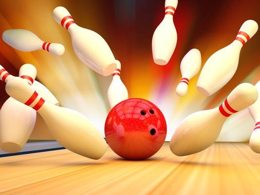 webart Bowling Strike