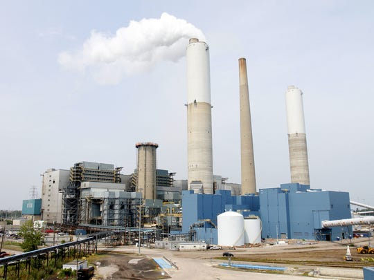 DTE Energy's coal-fired Monroe Power Plant in Monroe will be continue operating until 2040 under the utility's plans to switch to gas-fired plants and alternate energy generation.