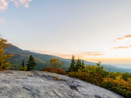 Beacon Heights off the Blue Ridge Parkway should have good fall color this weekend.
