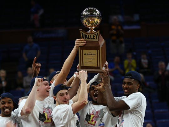 The Loyola Ramblers hold the Missouri Valley Conference