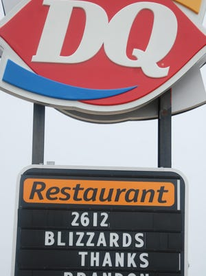 Brandon residents certainly have a love for ice cream - and the Children's Miracle Network - which was on the receiving end of proceeds raised from Miracle Treat Day earlier this month. As the sign says, 2,612 Blizzards were sold at the Brandon Dairy Queen.