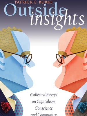 """The cover of Patrick Burke's book, """"Outside Insights."""""""