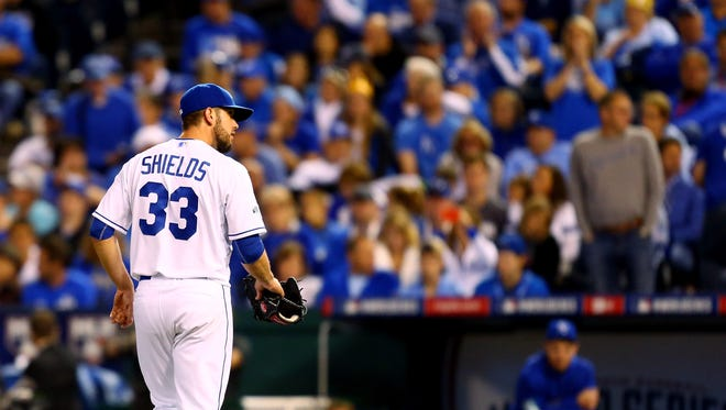 James Shields has agreed to a four-year, $72-million deal with the San Diego Padres.