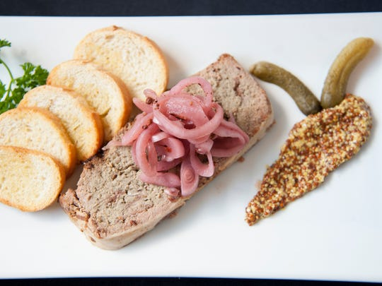 Duck liver pate is a classic small plate dish at Braise 116 in Haddonfield.