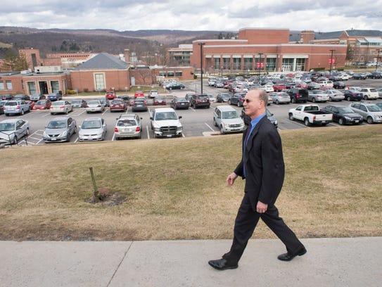 Frostburg State University President Jonathan Gibralter