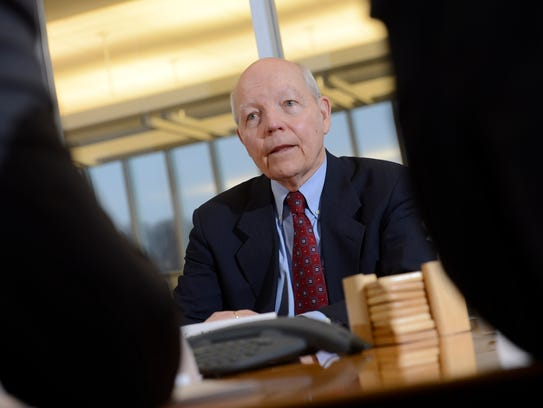 File photo taken in 2015 shows IRS Commissioner John