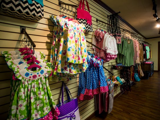 Cajun Belle carries children's clothing.