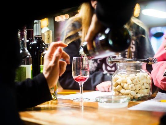 Adams County Winery sales associate Jean Vandenbroek
