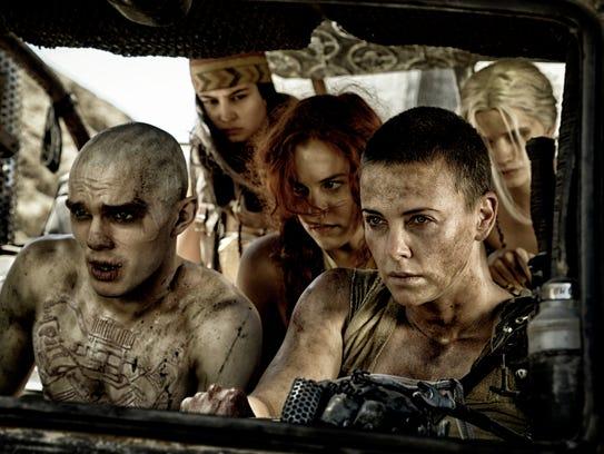 'Mad Max: Fury Road' won Oscars for film editing, makeup